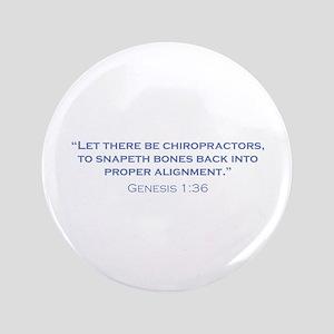 "Chiropractors / Genesis 3.5"" Button"