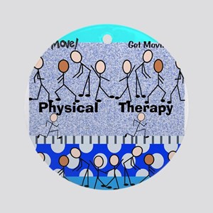 Physical Therapy Ornament (Round)