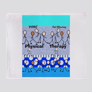 Physical Therapy Throw Blanket