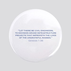 "Civil Engineers / Genesis 3.5"" Button"