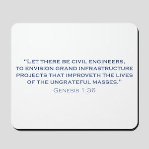 Civil Engineers / Genesis Mousepad