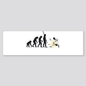 Evolution Judo A 3c Sticker (Bumper)