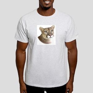 Panther Pose Ash Grey T-Shirt
