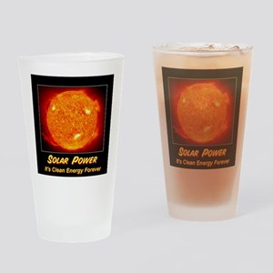 Solar Power Drinking Glass