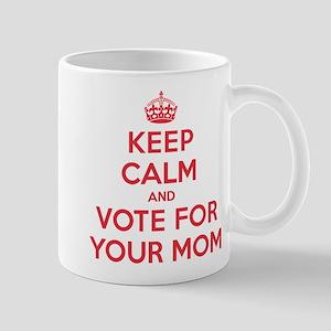 K C Vote Your Mom Mug