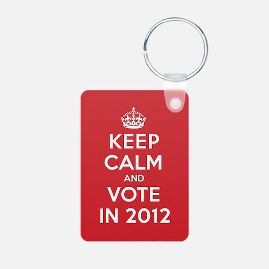 K C Vote In 2012 Keychains