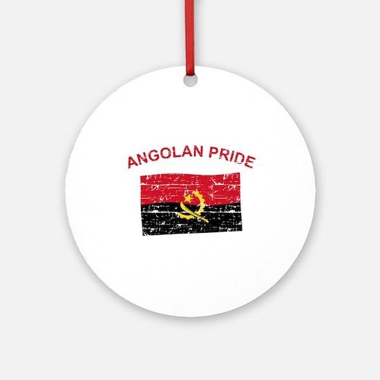Angolan Pride Ornament (Round)