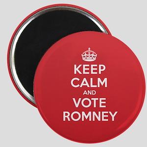 K C Vote Romney Magnet