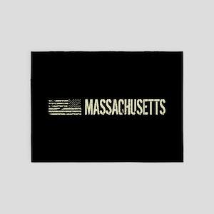 Black Flag: Massachusetts 5'x7'Area Rug
