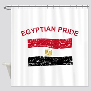 Egyptian Pride Shower Curtain