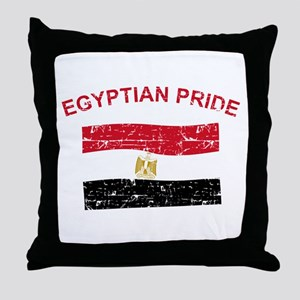Egyptian Pride Throw Pillow