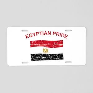 Egyptian Pride Aluminum License Plate