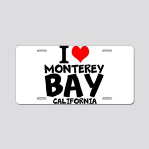 I Love Monterey Bay, California Aluminum License P