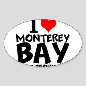I Love Monterey Bay, California Sticker