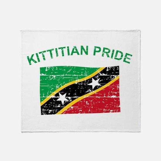 St. Kitts Pride Throw Blanket