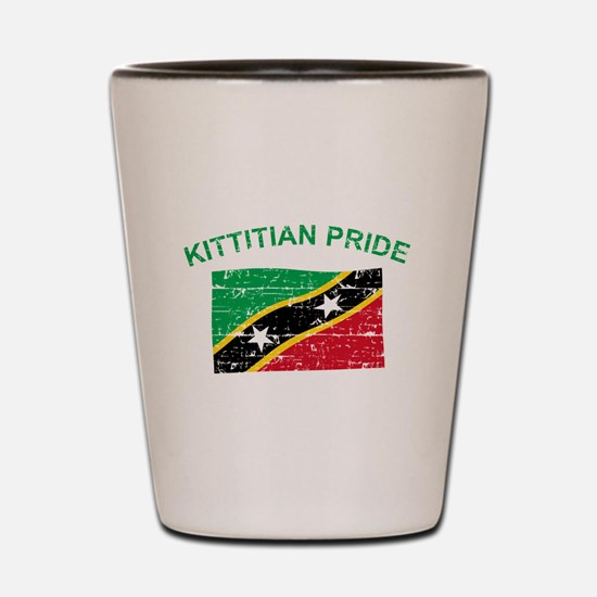 St. Kitts Pride Shot Glass
