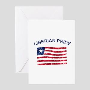 Liberian Pride Greeting Card