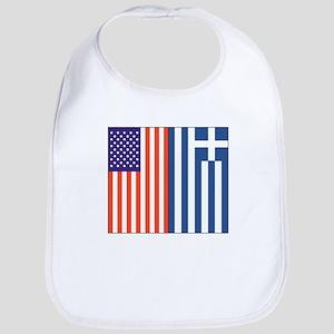 US and Greece Bib