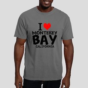 I Love Monterey Bay, California Mens Comfort Color