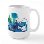 Atom Sea #9 Large Mug