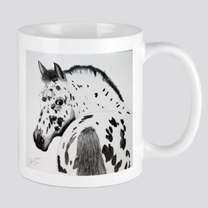 Leopard Appaloosa Colt pencil drawing Mug