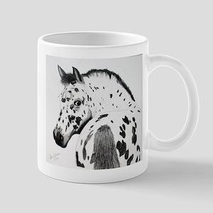 Leopard Appaloosa Colt pencil drawing Mug