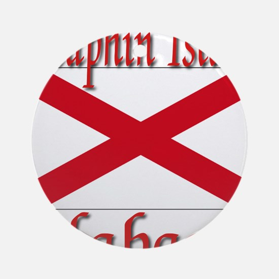 Dauphin Island Alabama Ornament (Round)