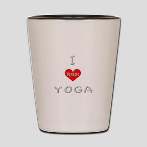 Yoga I Love Shot Glass