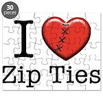 I love Zip Ties Puzzle