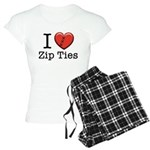 I love Zip Ties Women's Light Pajamas