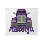 Trucker Katelyn Throw Blanket