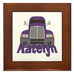 Trucker Katelyn Framed Tile