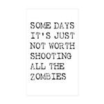 Some Days Sticker (Rectangle 10 pk)