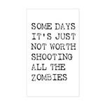 Some Days Sticker (Rectangle)