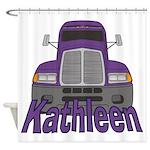 Trucker Kathleen Shower Curtain