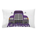 Trucker Kathleen Pillow Case