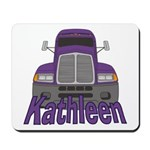 Trucker Kathleen Mousepad