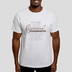 Constitutional Conservative Light T-Shirt