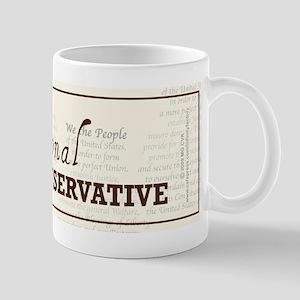 Constitutional Conservative Mug