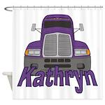 Trucker Kathryn Shower Curtain
