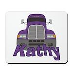 Trucker Kathy Mousepad