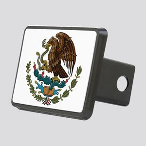 Mexican Coat of Arms Rectangular Hitch Cover