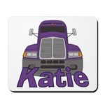 Trucker Katie Mousepad