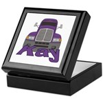 Trucker Kay Keepsake Box