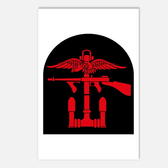 Combined Operations B-R Tombstone Postcards (Packa