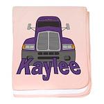 Trucker Kaylee baby blanket