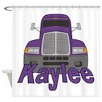 Trucker Kaylee Shower Curtain