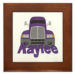 Trucker Kaylee Framed Tile