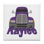 Trucker Kaylee Tile Coaster
