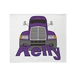 Trucker Kelly Throw Blanket